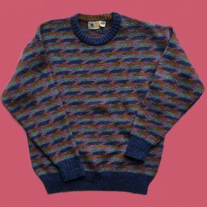 vintage Alan Flusser wool sweater